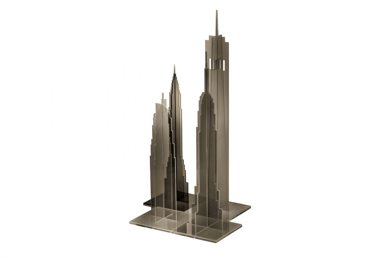 """NEW YORK GREY"" BUILDING KIT"