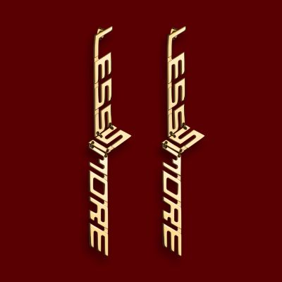 """LESS IS MORE II"" EARRINGS"