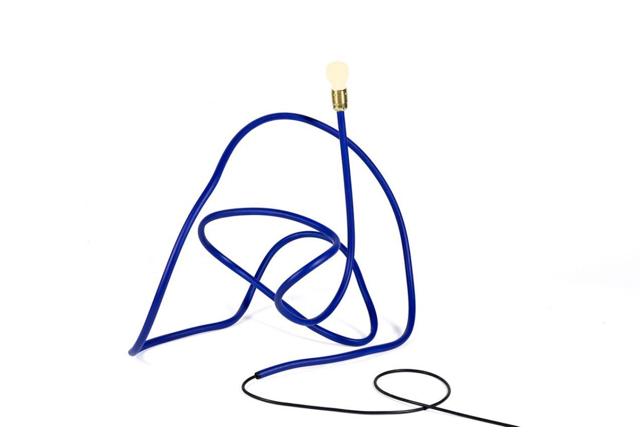 ULTRAMARINE BLUE LAMP