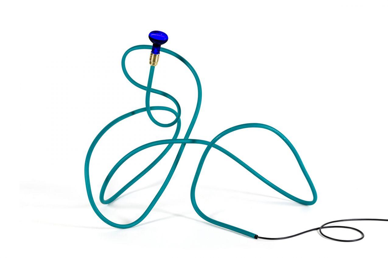 WATER BLUE LAMP
